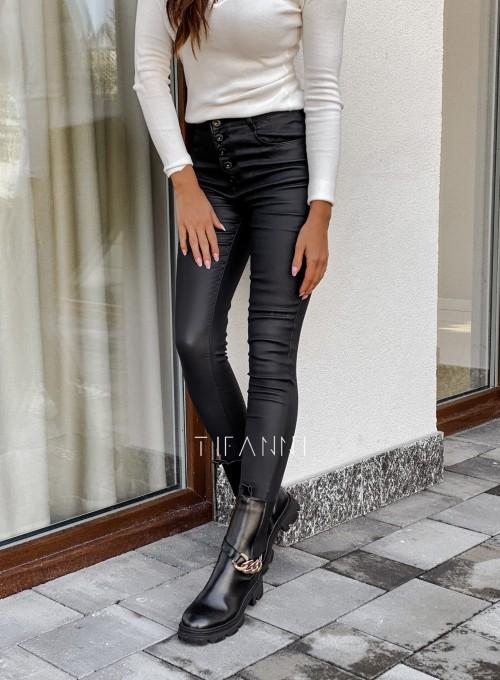 Woskowane spodnie Linz 3