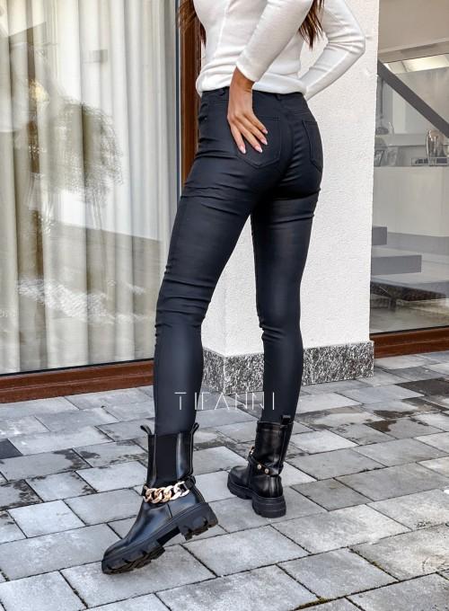 Woskowane spodnie Linz 4