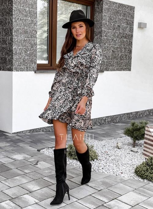 Wiązana sukienka Zuma 6