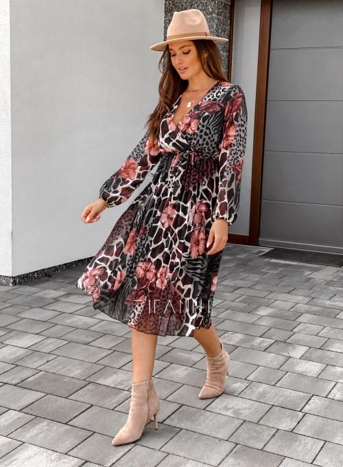 Sukienka Dali midi 2