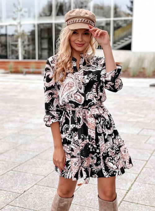 Sukienka w kwiatki Malvia IV 2
