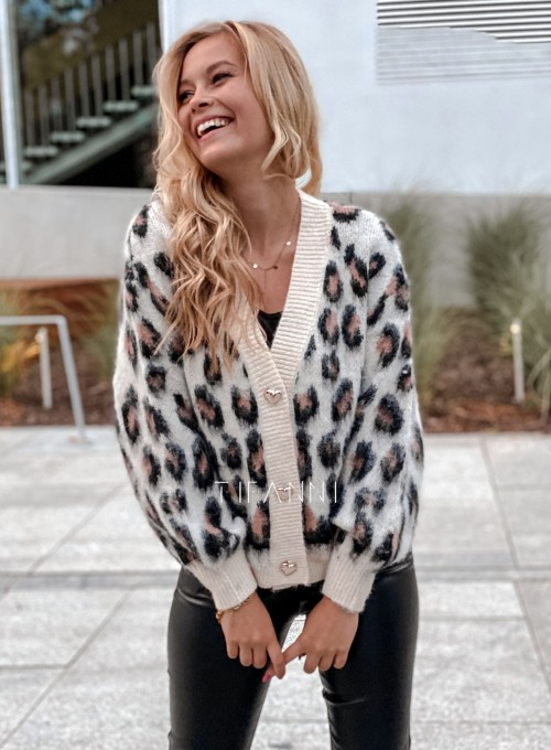 Sweter rozpinany Flow panther 2