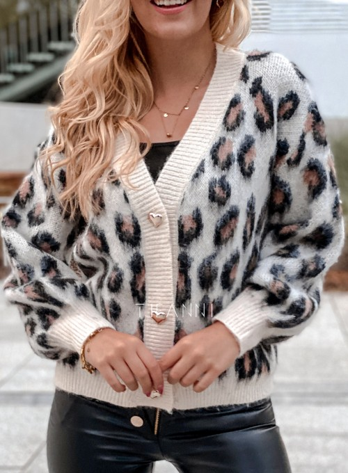 Sweter rozpinany Flow panther 1