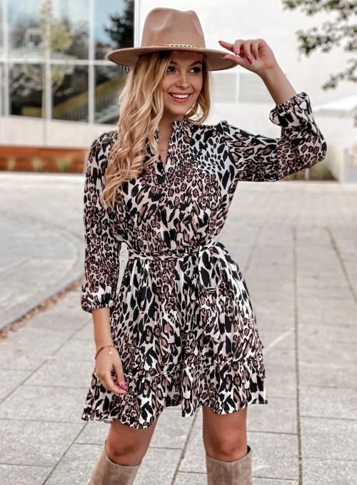 Sukienka w kwiatki Malvia panther