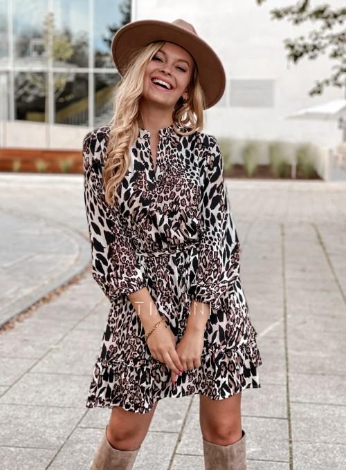 Sukienka w kwiatki Malvia panther 6