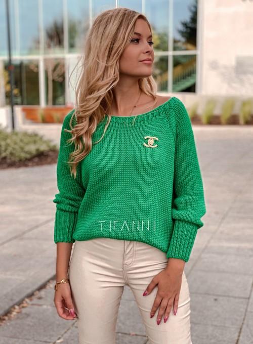 Sweter Mika green 1