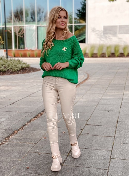 Sweter Mika green 3