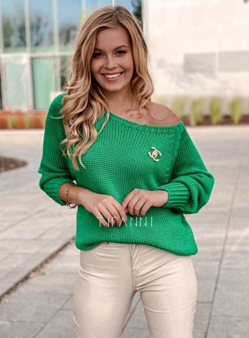 Sweter Mika green 4
