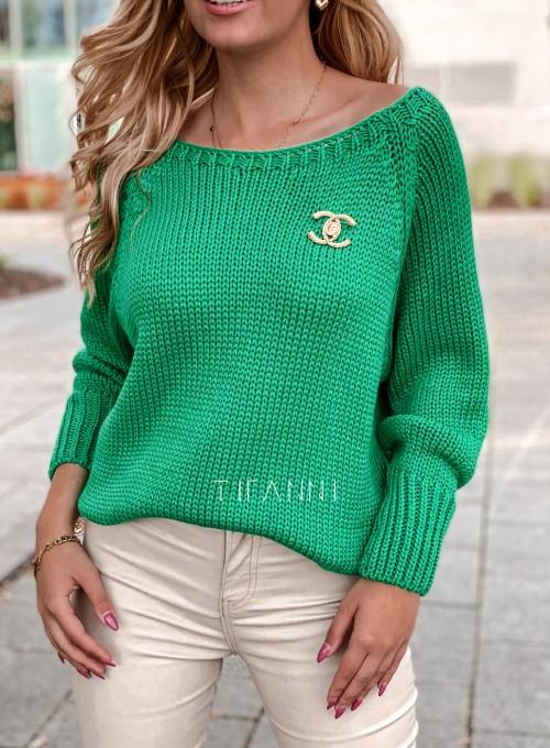 Sweter Mika green 5