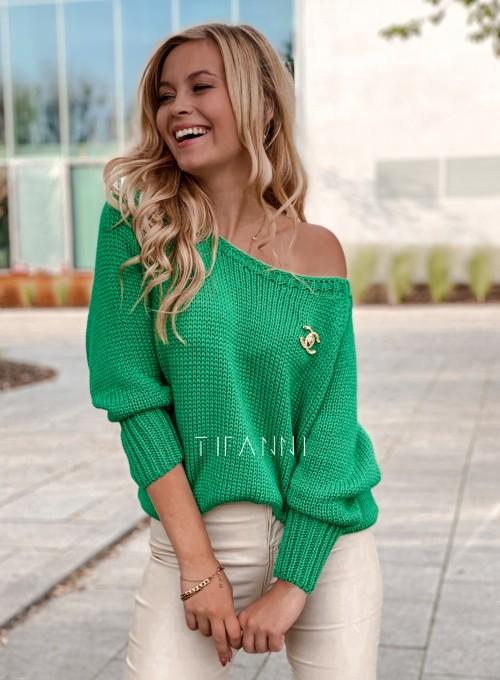 Sweter Mika green 6
