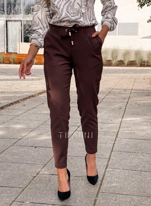 Spodnie Lavia chocolate 2