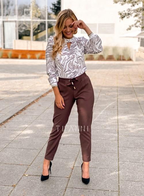 Spodnie Lavia chocolate 3