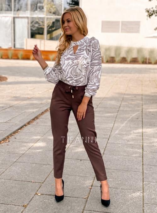 Spodnie Lavia chocolate 1