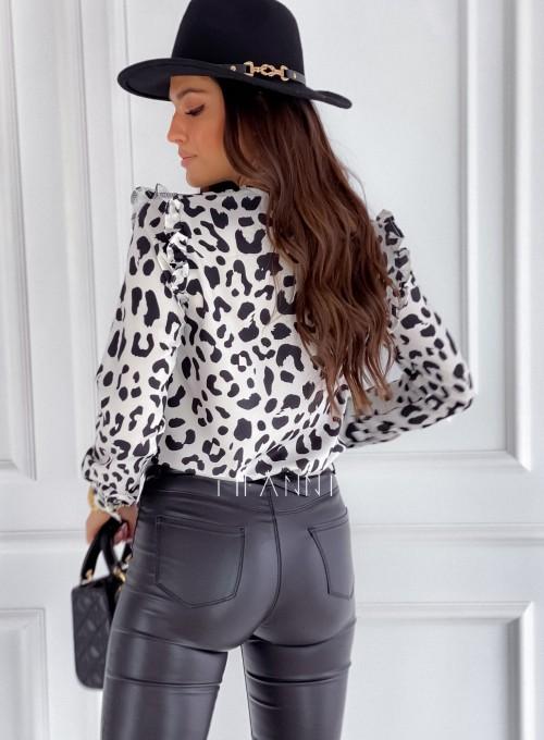 Koszula Porto panther biała 3