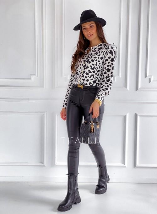 Koszula Porto panther biała 6