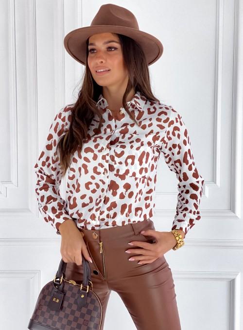 Koszula Pampi panther karmel