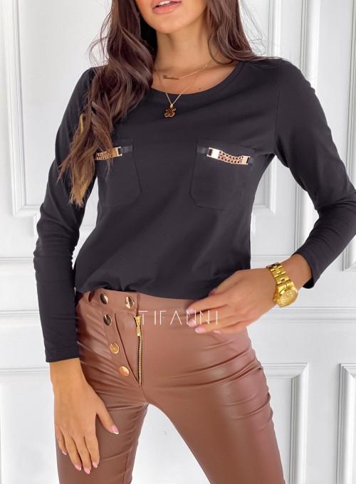 Bluzka Jasmin czarna 1