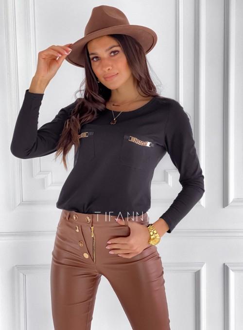 Bluzka Jasmin czarna 2