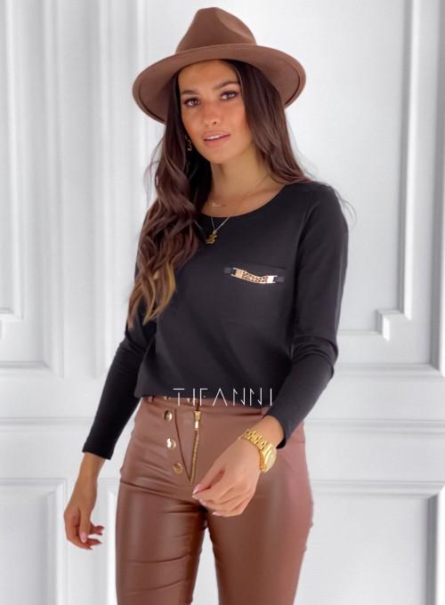 Bluzka Jasmin czarna 4