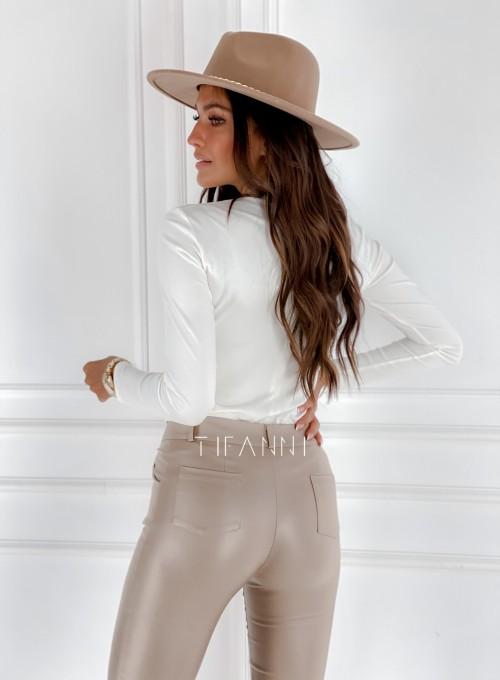 Bluzka top Azari śmietankowy 3