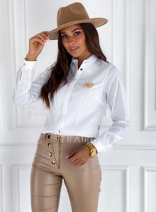 Koszula Madis klasyczna biała