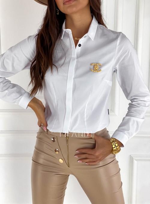 Koszula Madis klasyczna biała 1