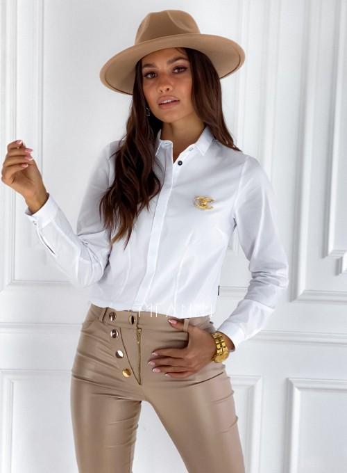 Koszula Madis klasyczna biała 3