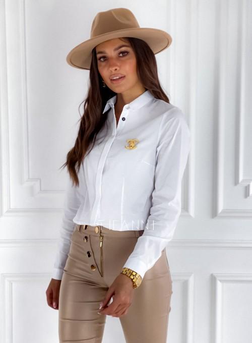 Koszula Madis klasyczna biała 4
