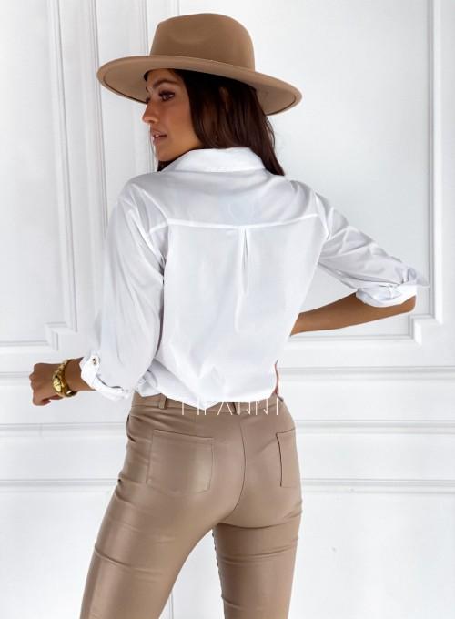Bluzka koszulowa Best biała 3