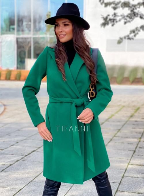 Plaszcz Polly w kolorze zielonym