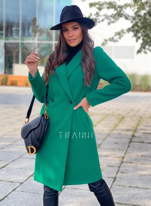 Plaszcz Polly w kolorze zielonym 1