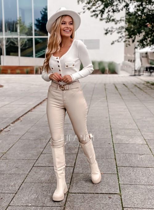 Bluzka Vessi śmietankowa 6