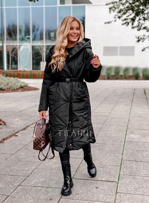 Kurtka płaszcz Sophia czarna