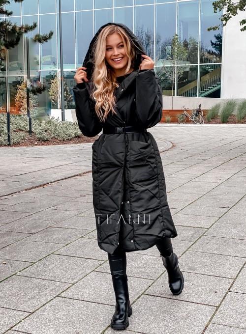 Kurtka płaszcz Sophia czarna 4