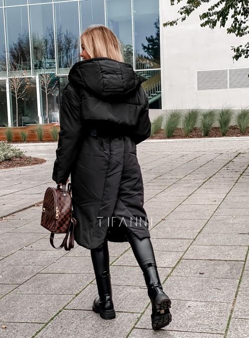 Kurtka płaszcz Sophia czarna 1