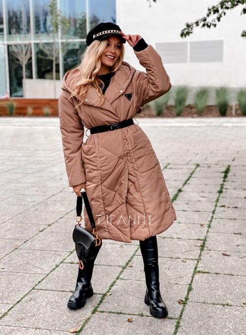 Kurtka płaszcz Sophia camel