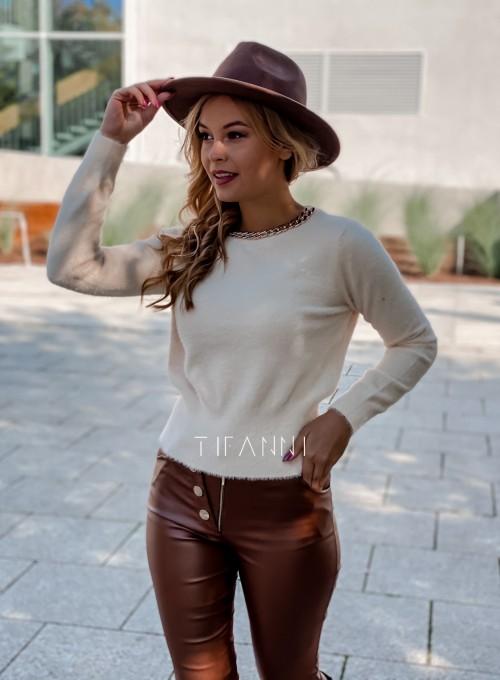 Sweter alpakowy Tifi cream 2
