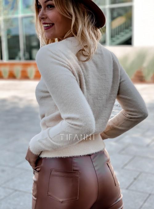 Sweter alpakowy Tifi cream 4