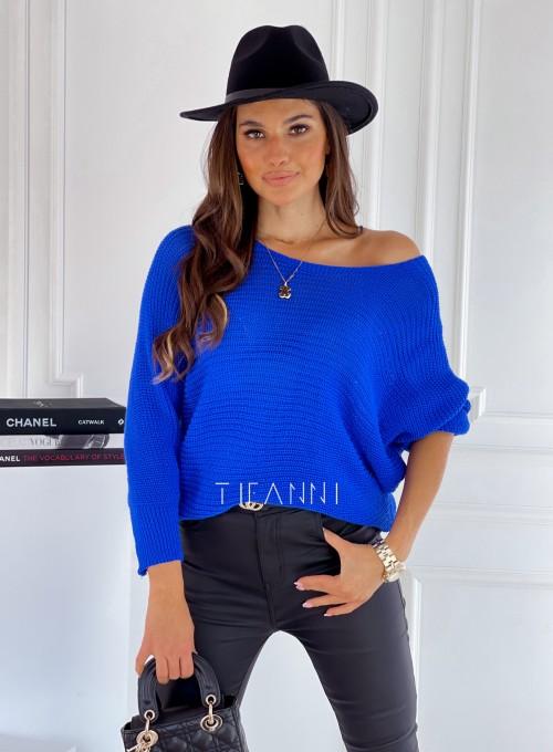 Sweter Bassino kobalt