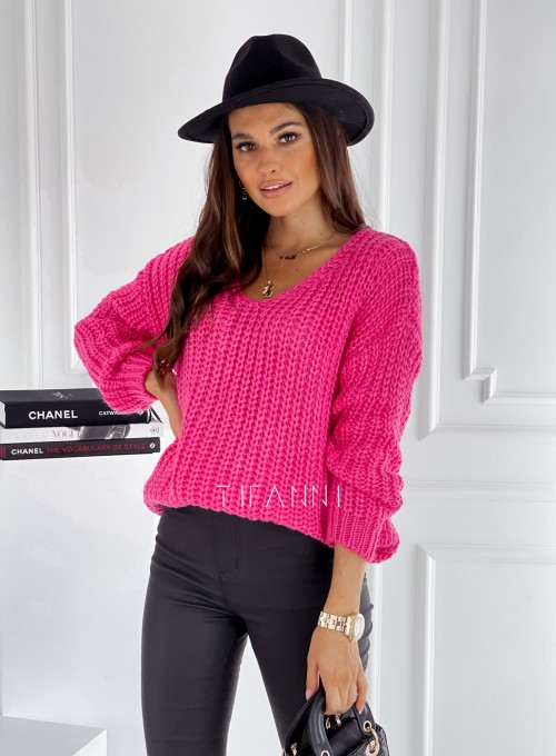 Sweter Rebi pink