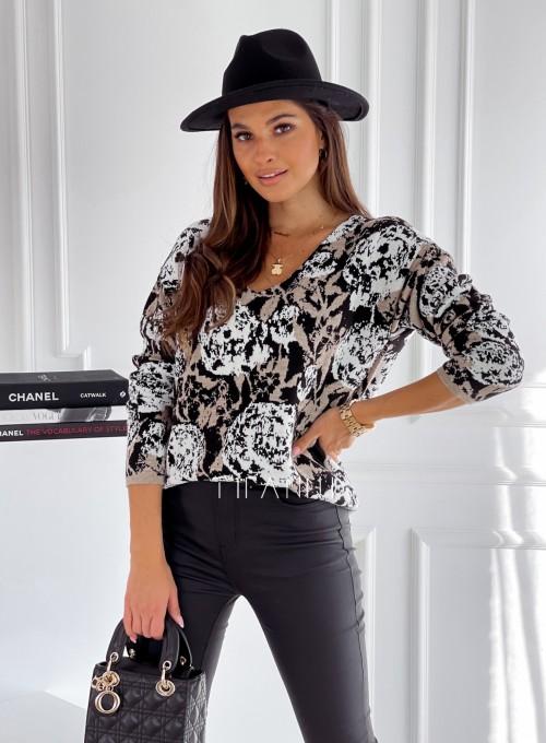 Sweter bluzka Randi czarny
