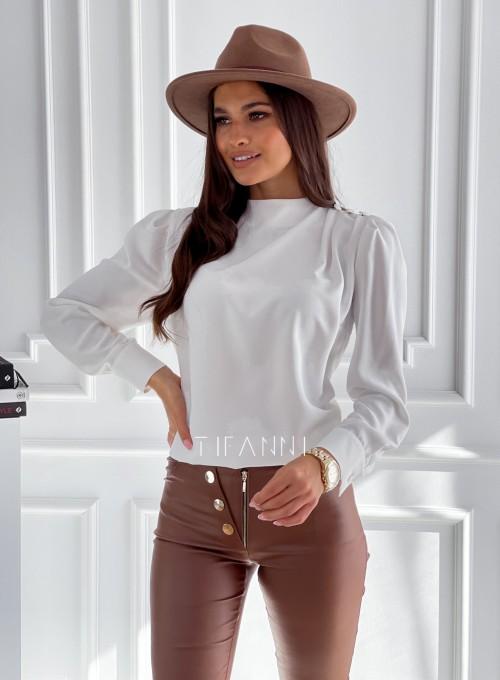 Elegancka bluzka Clary śmietankowa