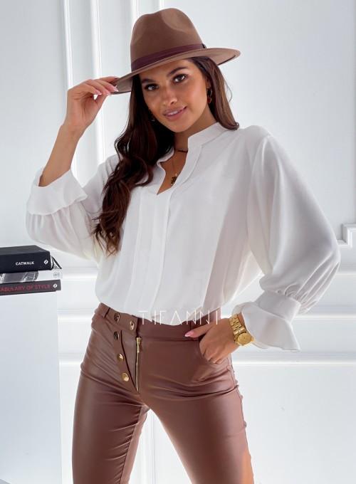 Elegancka bluzka Gotic śmietankowa