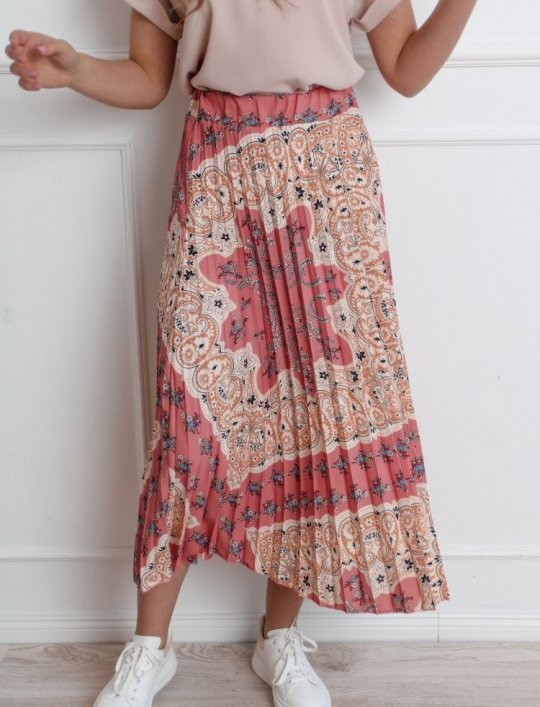Spódnica plisowana maxi - NOXI I