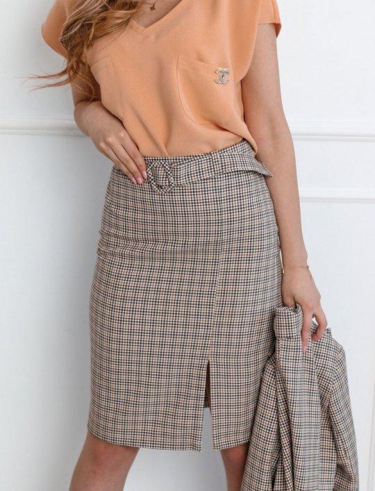 Spódnica w kratę Lace