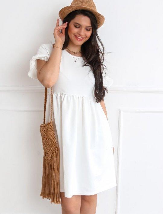 Sukienka Riesi biała