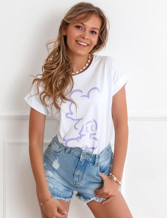 T-shirt Mickey Mause biały II