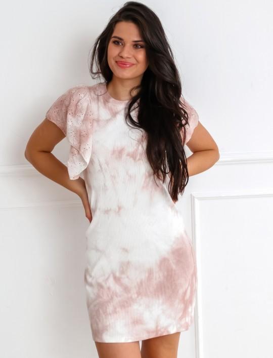 Sukienka Blanca pudrowa
