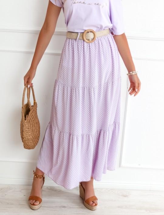 Spódnica Mia liliowa