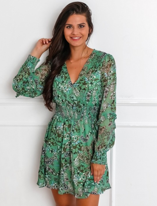 Sukienka Scarlet zielona